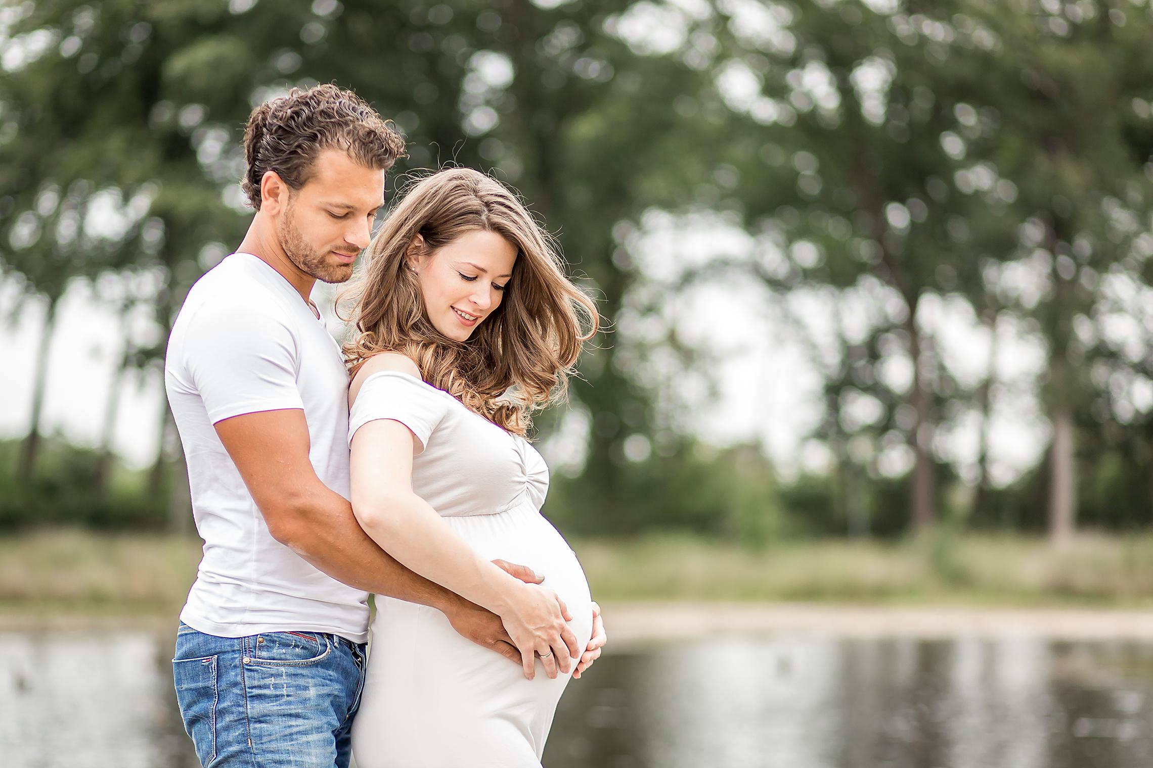 zwangerschaps fotografie sint Walrick