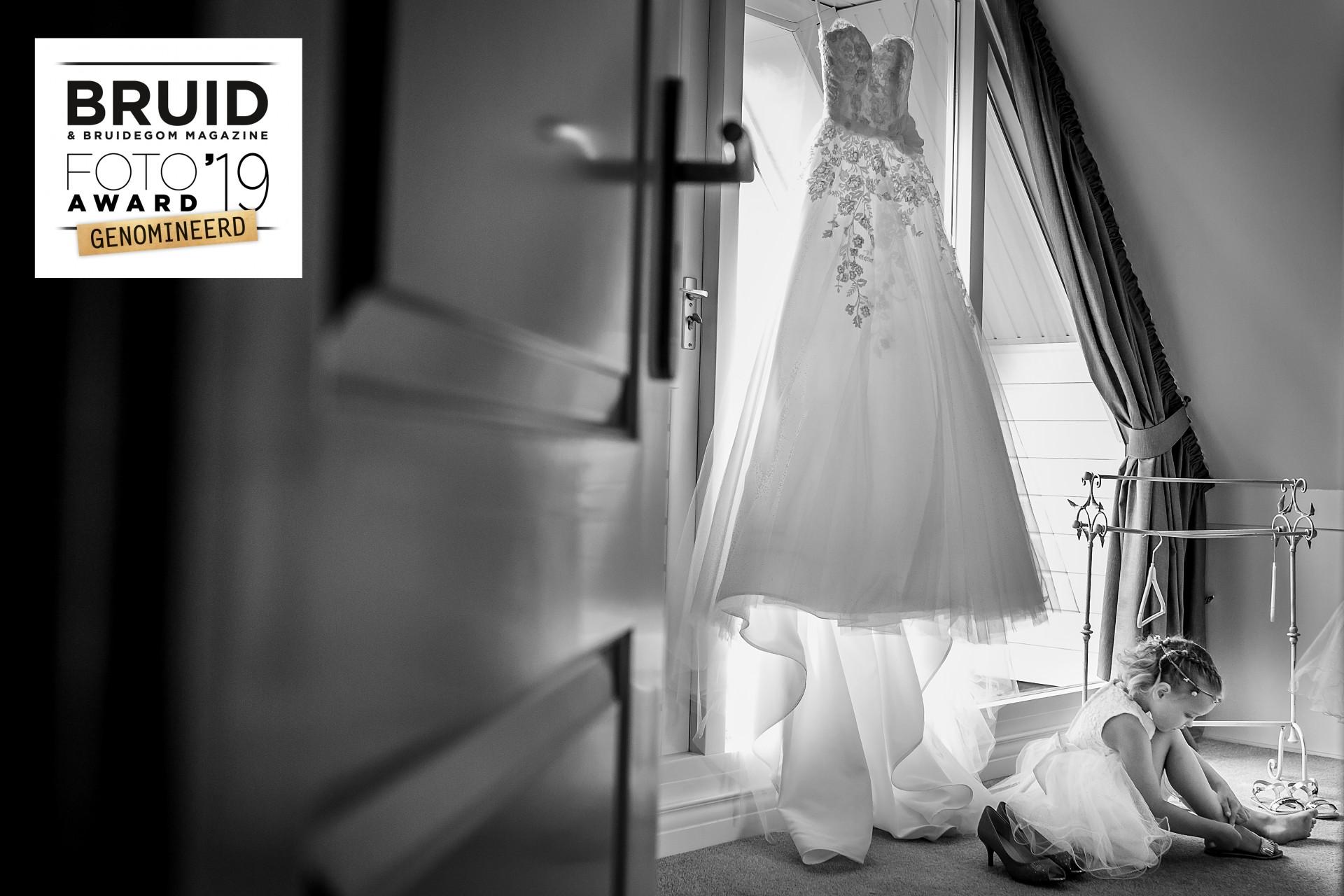 Genomineerd voor de Bruidsfoto Award 2019
