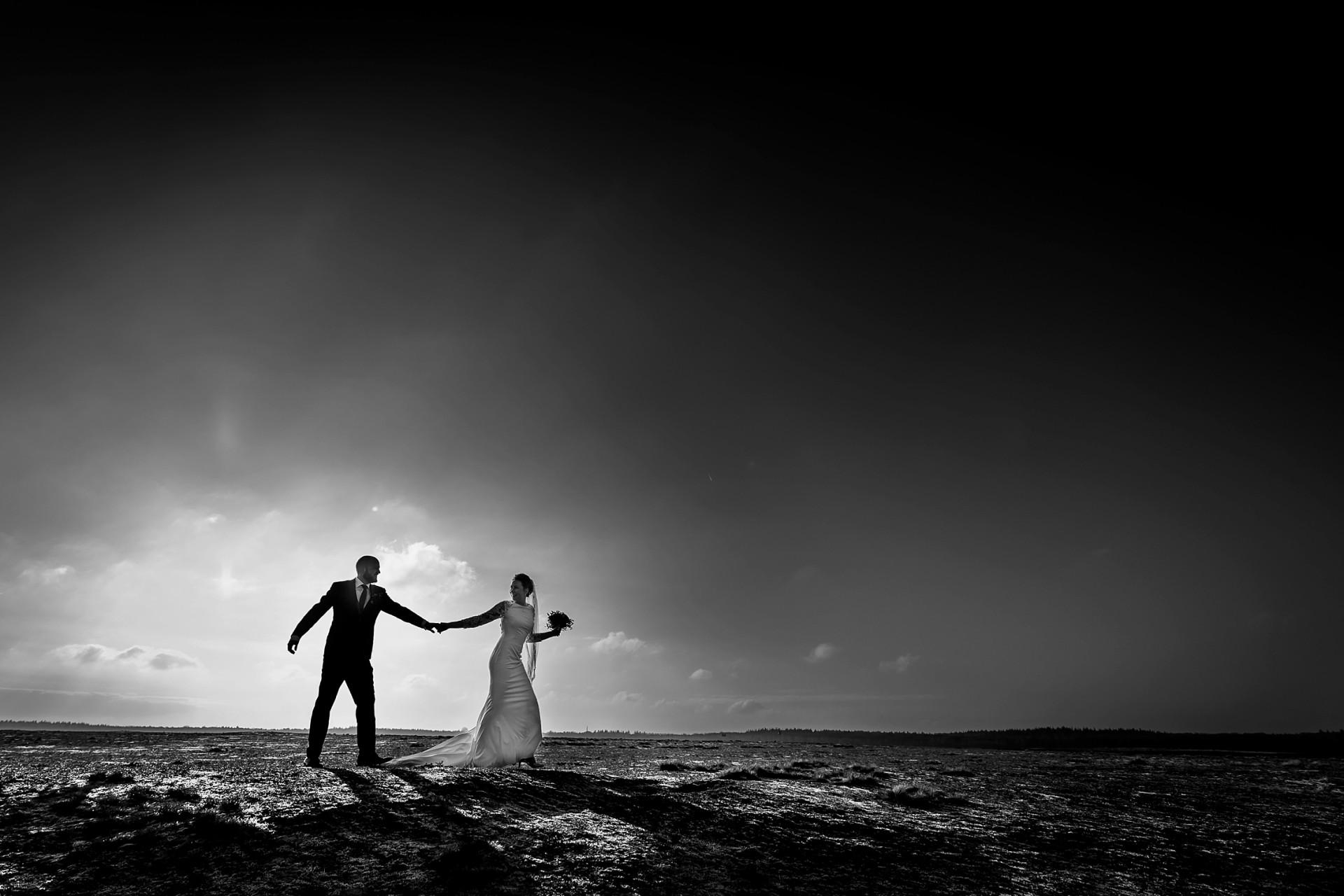 Winterbruiloft Ede / bruidsfotograaf Bennekom
