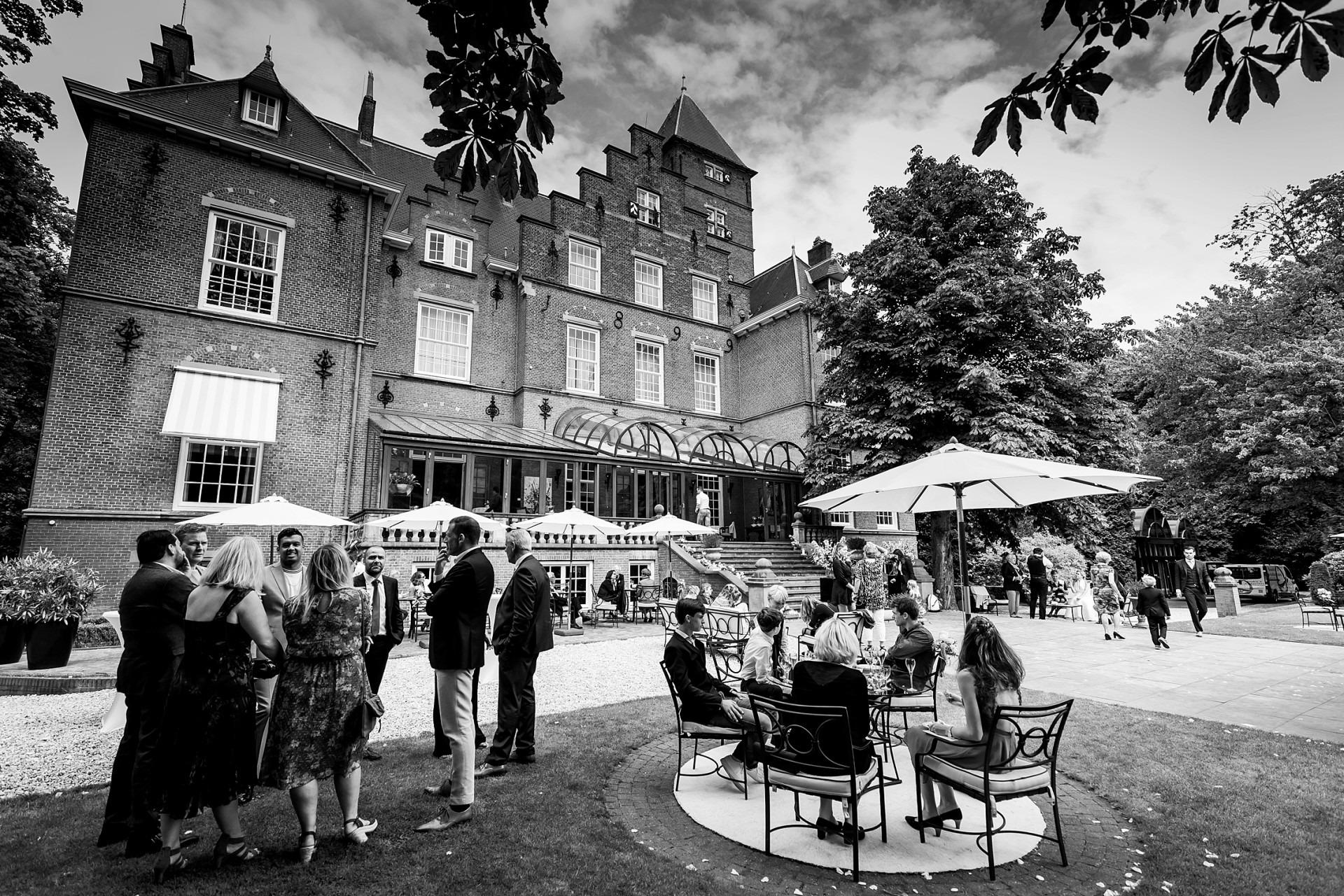 Kasteel de Wittenburg wassenaar bruidsfotografie