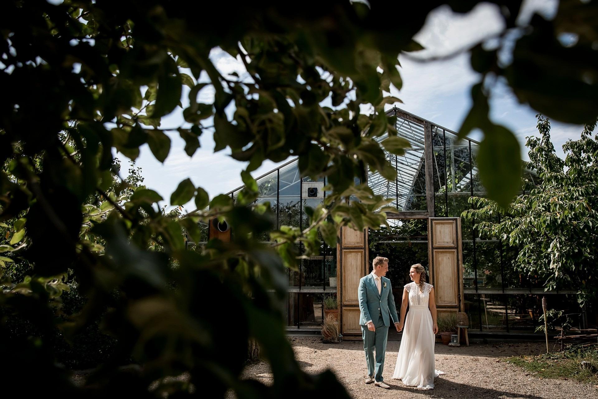 trouwen in de kas Winssen