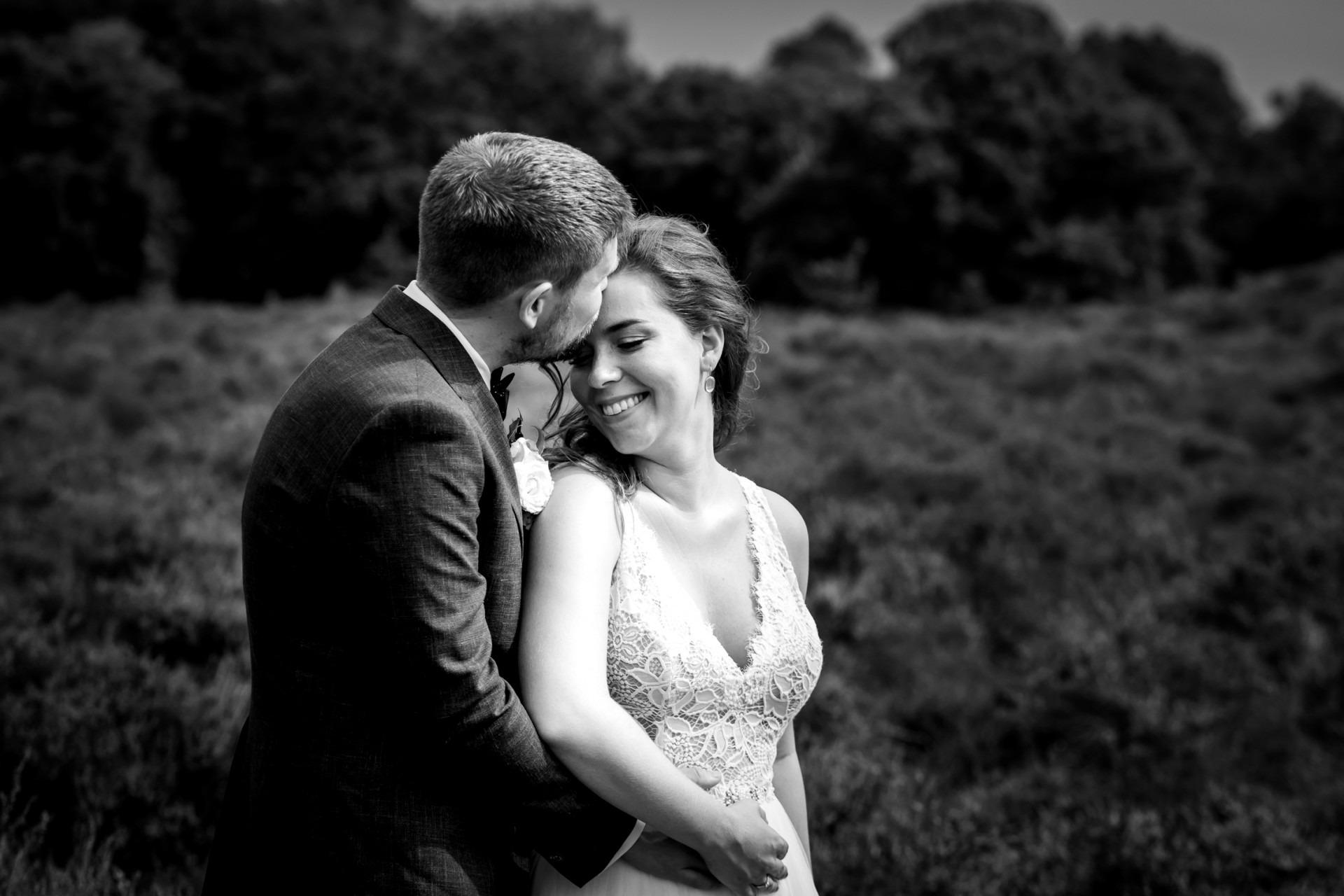 Bruidsfotografie, trouwreportage de Posbank, Elainefotografie
