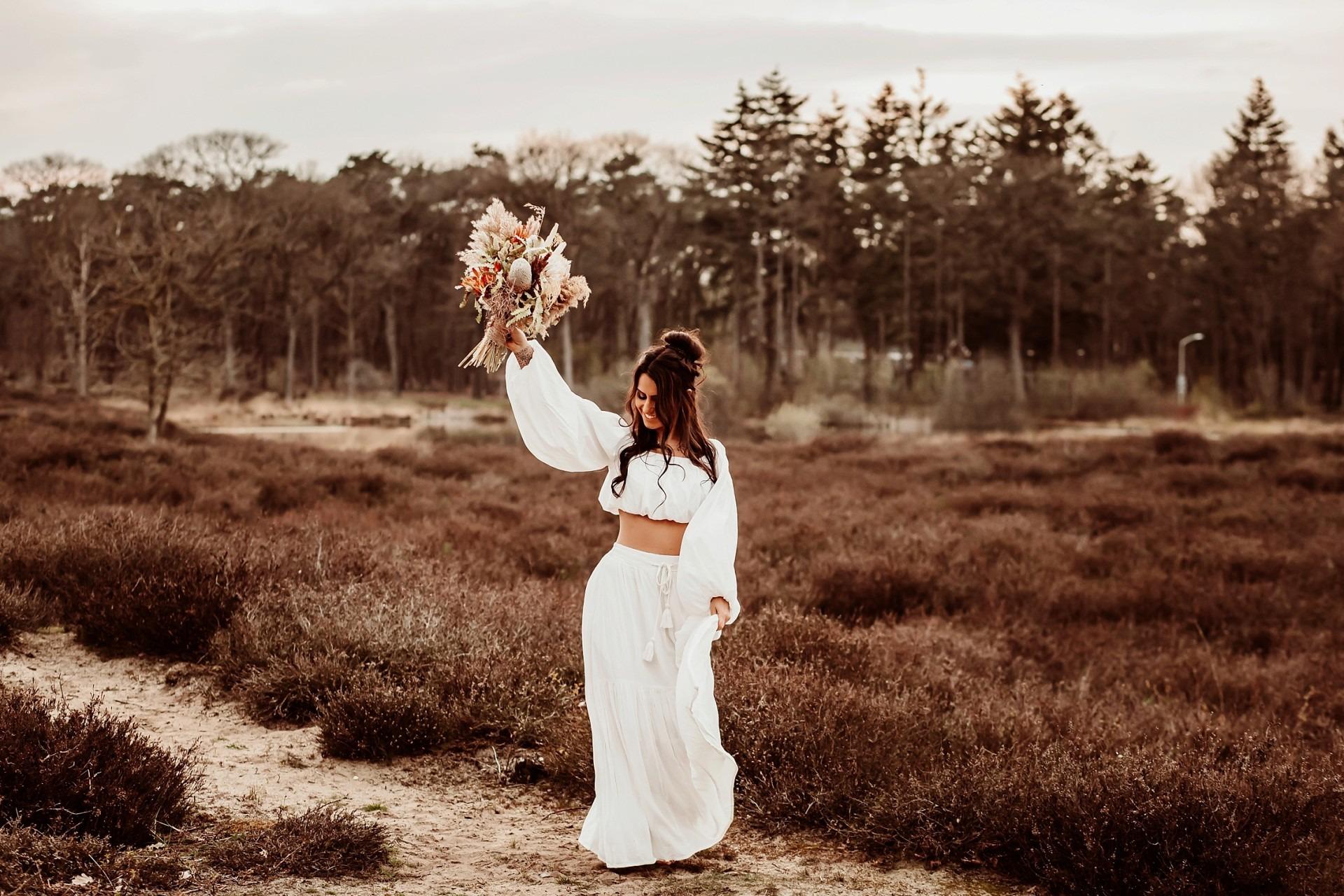 Bohemian bruiloft, Elainefotografie