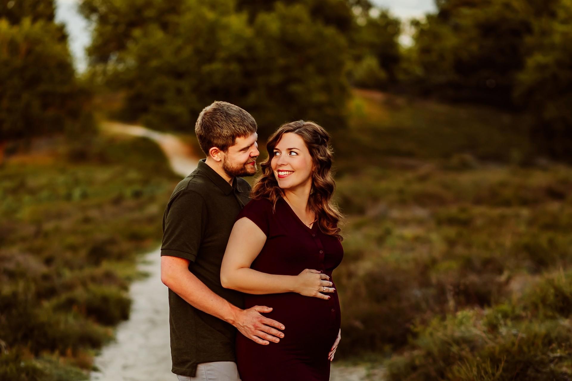 Zwangerschapsfotografie Posbank Rheden
